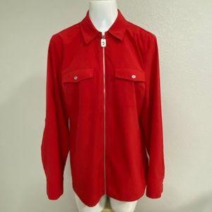 Michael Kors Red shirt Size 12